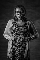 NORMA AIDE JIM&Eacute;NEZ OSORIO , 33,  stands for a portrait on July 18, 2016 in , Mexico City,  Mexico.<br /> A decade after two-dozen women were sexually assaulted and beaten by police following protests outside of Mexico City, an international human rights commission is demanding a full investigation into the officials responsible for the incident and its potential cover-up, including the president of the country, Enrique Pena Nieto, who was the state governor at the time.<br /> I am very surprised with myself, I never thought I had the capacity to withstand and overcome something like this, I never thought I had the strength in me. <br /> When I got out of prison ( she spent a year in prison) I was devastated, I thought I never wanted to leave my house ever again, I was frightened all the time and I devoted my life and my energy to reconstructing myself again as a woman. <br /> Because sexual torture affects every inch of your life, your family, collective, intimate life. <br /> In this legal battle and struggle I found a way to survive, I had to convince myself that yes something horrible happened in 2006, but If we stuck to telling that sad, it sounds like a terrible story, we wouldn&rsquo;t achieve anything, but after what happened  we decided to turn the page and started telling a different one , a positive one, one of resilience, strength and courage, and above all, of  much love and fraternity among us women. <br /> Norma was a Plastic Arts student and after arrested and spending a year in prison, when she got out, she dropped out. <br /> &ldquo;The stigma that falls upon you is terrible, my boyfriend didn&rsquo;t want to be with me, friends used to treat me as if I was going to break all the time, as If I was made of glass, everyone around you changes and that is even more painful.&rdquo; <br /> &ldquo;I had to come to terms with the fact people &ndash;my family included- didn&rsquo;t know how to treat me, that I, myself didn&rsquo;t know how to treat me