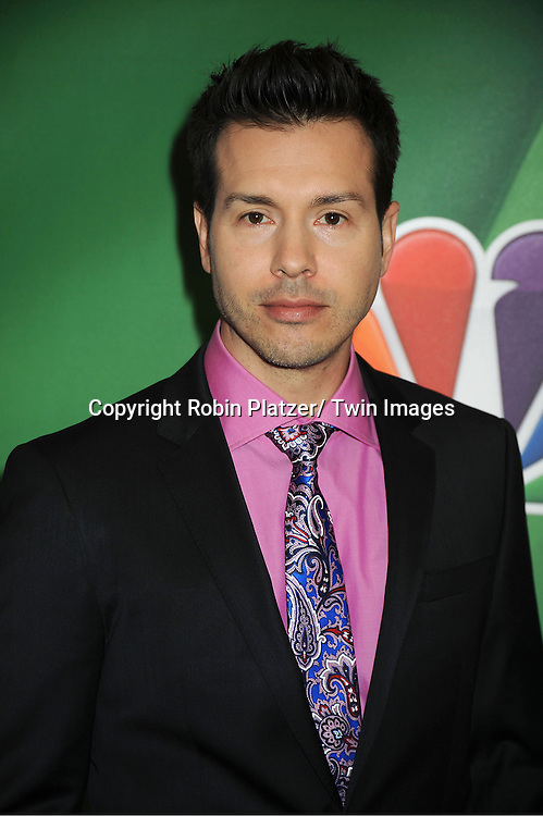 "Jon Seda of "" Chicago PD"" arrives at the NBC Upfront Presentation for 2013-2014 Season on May 13, 2013 at Radio City Music Hall in New York City."