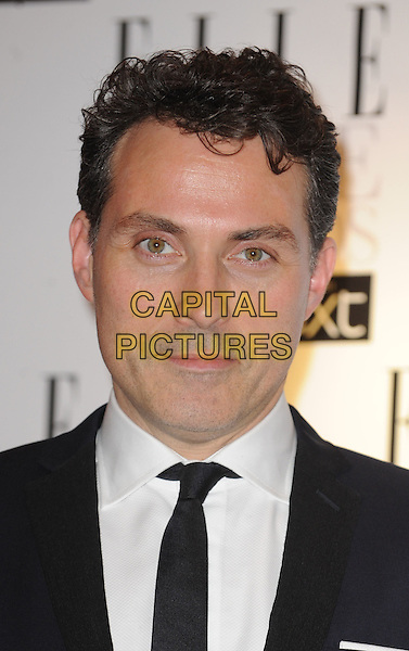 Rufus Sewell.The ELLE Style Awards 2012, Savoy Hotel, London, England,.February 13th, 2012.headshot portrait black white tie .CAP/WIZ.© Wizard/Capital Pictures.