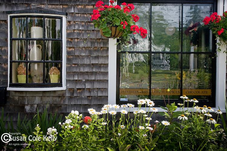 Windows at The Brown Jug, Sandwich, Cape Cod, MA, USA