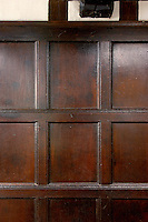 17th century oak panelling
