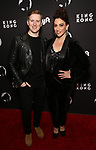 """Travis Waldschmidt and Lesli Margherita attends the Broadway Opening Night of """"King Kong - Alive On Broadway"""" at the Broadway Theater on November 8, 2018 in New York City."""