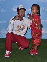"10 August  2017 - Los Angeles, California - Tyga, King Cairo.   Premiere of Netflix's ""True and The Rainbow"" held at Pacific Theaters at The Grove in Los Angeles. Photo Credit: Birdie Thompson/AdMedia"