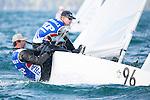 Bow n: 96, Skipper: Jean-Baptiste Bernaz, Crew: Pascal Rambeau, Sail n: FRA 8270