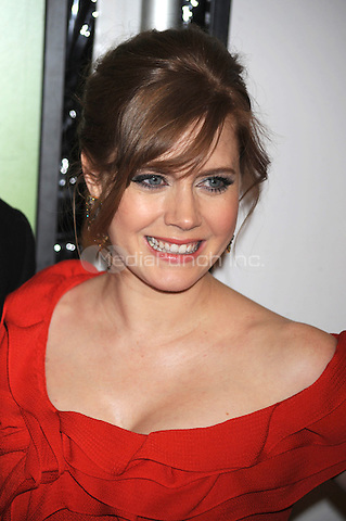 Amy Adams attends the premiere of 'Leap Year' at the Directors Guild Theatre in New York City. January 6, 2010. Credit: Dennis Van Tine/MediaPunch