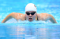 PICTURE BY ALEX BROADWAY /SWPIX.COM - 2012 London Paralympic Games - Day Ten - Swimming, Aquatic Centre, Olympic Park, London, England - 08/09/12 - Mary Fisher of New Zealand competes in the Women's 200m Individual Medley SM11 Heats.