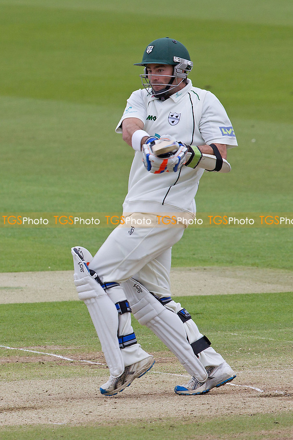 Ben Scott, Worcestershire CCC pulls to the boundary - Middlesex CCC vs Worcestershire CCC - LV County Championship Division One Cricket at Lords Ground, St Johns Wood, London - 06/05/12 - MANDATORY CREDIT: Ray Lawrence/TGSPHOTO - Self billing applies where appropriate - 0845 094 6026 - contact@tgsphoto.co.uk - NO UNPAID USE.