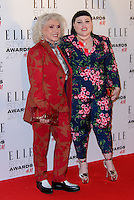 www.acepixs.com<br /> <br /> February 13 2017, London<br /> <br /> Debbie Harry and Beth Ditto arriving at the Elle Style Awards 2017 on February 13, 2017 in London, England<br /> <br /> By Line: Famous/ACE Pictures<br /> <br /> <br /> ACE Pictures Inc<br /> Tel: 6467670430<br /> Email: info@acepixs.com<br /> www.acepixs.com
