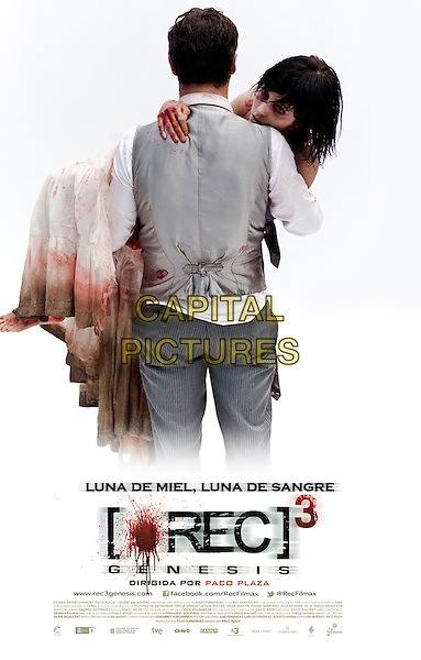 SPANISH POSTER ART.in [REC 3] Genesis (2012) .*Filmstill - Editorial Use Only*.CAP/FB.Supplied by Capital Pictures.