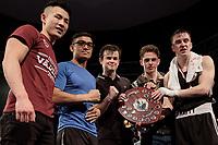 Sheffield Varsity Boxing 2017 Team Hallam v Uni of Sheffield