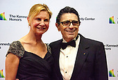 Edward Villella and wife, Linda Villella, arrive for the formal Artist's Dinner honoring the recipients of the 41st Annual Kennedy Center Honors hosted by United States Deputy Secretary of State John J. Sullivan at the US Department of State in Washington, D.C. on Saturday, December 1, 2018. The 2018 honorees are: singer and actress Cher; composer and pianist Philip Glass; Country music entertainer Reba McEntire; and jazz saxophonist and composer Wayne Shorter. This year, the co-creators of Hamilton­, writer and actor Lin-Manuel Miranda, director Thomas Kail, choreographer Andy Blankenbuehler, and music director Alex Lacamoire will receive a unique Kennedy Center Honors as trailblazing creators of a transformative work that defies category.<br /> Credit: Ron Sachs / Pool via CNP