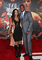 LOS ANGELES, CA - NOVEMBER 13: Paul Pierce, Julie Pierce, at the Justice League film Premiere on November 13, 2017 at the Dolby Theatre in Los Angeles, California. Credit: Faye Sadou/MediaPunch