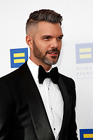 LOS ANGELES - MAR 30:  AJ Gibson at the Human Rights Campaign 2019 Los Angeles Dinner  at the JW Marriott Los Angeles at L.A. LIVE on March 30, 2019 in Los Angeles, CA