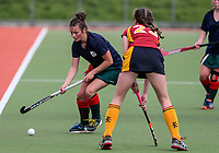 Wairarapa v Southland. Action during the U-15 Premier Girls Hockey Nationals. North Harbour Hockey, Auckland, New Zealand. Monday 4 October 2017. Photo:Simon Watts / www.bwmedia.co.nz