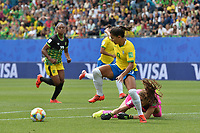 Debinha (bresil) vs Sydney Schneider (jamaique)<br /> Grenoble 09-06-2019 <br /> Football Womens World Cup <br /> Brazil - Jamaica <br /> Brasile - Giamaica<br /> Photo Frederic Chambert / Panoramic/Insidefoto <br /> ITALY ONLY
