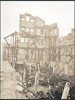 BNPS.co.uk (01202 558833)<br /> Pic: Pen&amp;Sword/BNPS<br /> <br /> A ruined shop in Amiens.<br /> <br /> A poignant collection of images which were taken by a photographer who documented the graves of fallen soldiers on the Western Front have come to light in a new book.<br /> <br /> Ivan Bawtree was one of only three professional photographers assigned to the the Graves Registration Units to photograph and record the graves of fallen First World War soldiers on behalf of grieving relatives. <br /> <br /> His powerful photos of northern France and Flanders are a haunting reminder of the horrors of war and a fascinating insight into the early work of the Imperial War Graves Commission. <br /> <br /> Prior to the First World War, the casualties of war were generally buried in unmarked mass graves.