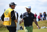 Andy Sullivan (ENG) during Round One of the 145th Open Championship, played at Royal Troon Golf Club, Troon, Scotland. 14/07/2016. Picture: David Lloyd | Golffile.<br /> <br /> All photos usage must carry mandatory copyright credit (&copy; Golffile | David Lloyd)