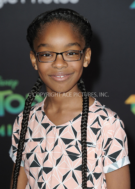 WWW.ACEPIXS.COM<br /> <br /> February 17 2016, LA<br /> <br /> Marsai Martin attending the premiere of Walt Disney Animation Studios' 'Zootopia' at the El Capitan Theatre on February 17, 2016 in Hollywood, California. <br /> <br /> <br /> By Line: Peter West/ACE Pictures<br /> <br /> <br /> ACE Pictures, Inc.<br /> tel: 646 769 0430<br /> Email: info@acepixs.com<br /> www.acepixs.com