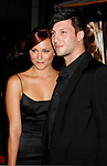 """HOLLYWOOD, CA. - September 03: Briana Evigan and guest arrive at the Los Angeles premiere of """"Sorority Row"""" at the ArcLight Hollywood theater on September 3, 2009 in Hollywood, California."""