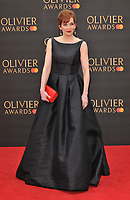 Katherine Parkinson at the Olivier Awards 2019, Royal Albert Hall, Kensington Gore, London, England, UK, on Sunday 07th April 2019.<br /> CAP/CAN<br /> ©CAN/Capital Pictures