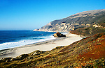 California: Monterey area.  Scenic of El Sur Ranch beach in Big Sur.  Photo #: camon2101..Photo copyright Lee Foster, 510/549-2202, lee@fostertravel.com, www.fostertravel.com
