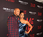 Dorian Missick & Simone Missisk at Premier of Tell Me A Story in which he stars - This is no fairy tale at Metrograph, NYC on October 23, 2018 which is a CBS - all Access original series - premieres on Halloween  (Photo by Sue Coflin/Max Photos)
