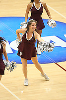 19 March 2007: The Stanford Dollies during Stanford's 68-61 second round loss to Florida State in the 2007 NCAA Division I Women's Basketball Championships at Maples Pavilion in Stanford, CA.