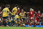 Australia scrum half Nick Phipps.<br /> Dove Men Series 2014<br /> Wales v Australia<br /> Millennium Stadium<br /> 08.11.14<br /> ©Steve Pope-SPORTINGWALES