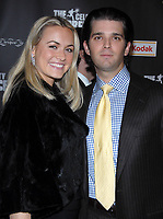 ***Vanessa Trump, the wife of Donald Trump Jr., was taken to a hospital on Monday after complaining of nausea when she was exposed to an unidentified white powder that came in the mail***<br /> FILE PHOTO: Vanessa Haydon Trump &amp; Donald Trump, Jr. pictured at &quot;The Celebrity Apprentice&quot; viewing party at Tenjune in New York City on February 7, 2008. <br /> CAP/MPI/RD<br /> &copy;RD/MPI/Capital Pictures
