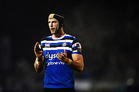 Luke Charteris of Bath Rugby looks on during a break in play. Premiership Rugby Cup match, between Bath Rugby and Gloucester Rugby on February 3, 2019 at the Recreation Ground in Bath, England. Photo by: Patrick Khachfe / Onside Images