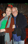 """Guiding Light Denise Pence """"Kaite Parker"""" was producer of the event and poses with her husband Steve Boockvar at Theatre at Saint Peter's Church - Home of The York Theatre, New York City, New York which was Sponsored by Actors' Equity Associations Eastern EEO Committee.  The event was an Equity event in celebration of Womens History Month.  (Photo by Sue Coflin/Max Photos)"""