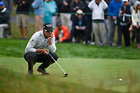 Henrik Stenson (SWE) looks over his putt on 3 during round 4 of the 2019 US Open, Pebble Beach Golf Links, Monterrey, California, USA. 6/16/2019.<br /> Picture: Golffile | Ken Murray<br /> <br /> All photo usage must carry mandatory copyright credit (© Golffile | Ken Murray)