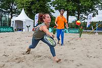 Den Bosch, Netherlands, 16 June, 2017, Tennis, Ricoh Open,  Beachtennis<br /> Photo: Henk Koster/tennisimages.com
