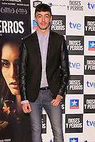 "Victor Palmero attends the ""DIOSES Y PERROS "" Movie presentation at Kinepolis Cinema in Madrid, Spain. October 6, 2014. (ALTERPHOTOS/Carlos Dafonte) /nortephoto.com"