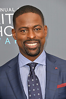 Sterling K. Brown  at the 23rd Annual Critics' Choice Awards at Barker Hangar, Santa Monica, USA 11 Jan. 2018<br /> Picture: Paul Smith/Featureflash/SilverHub 0208 004 5359 sales@silverhubmedia.com