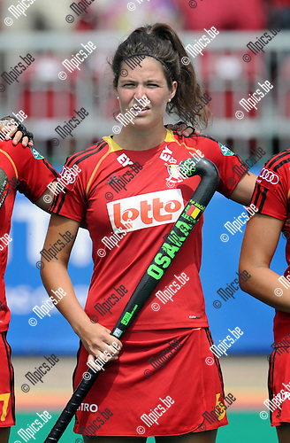 2013-07-14 / Hockey / seizoen 2013 / Dames Belgi&euml; / Anouk Raes<br /><br />Foto: Mpics.be