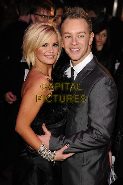 Tuesday, January 11, 2011<br /> Kerry Katona and Dan Whiston at the Morning Glory - UK film premiere, London, England.<br /> CAP/CK<br /> &copy;CK/Capital Pictures