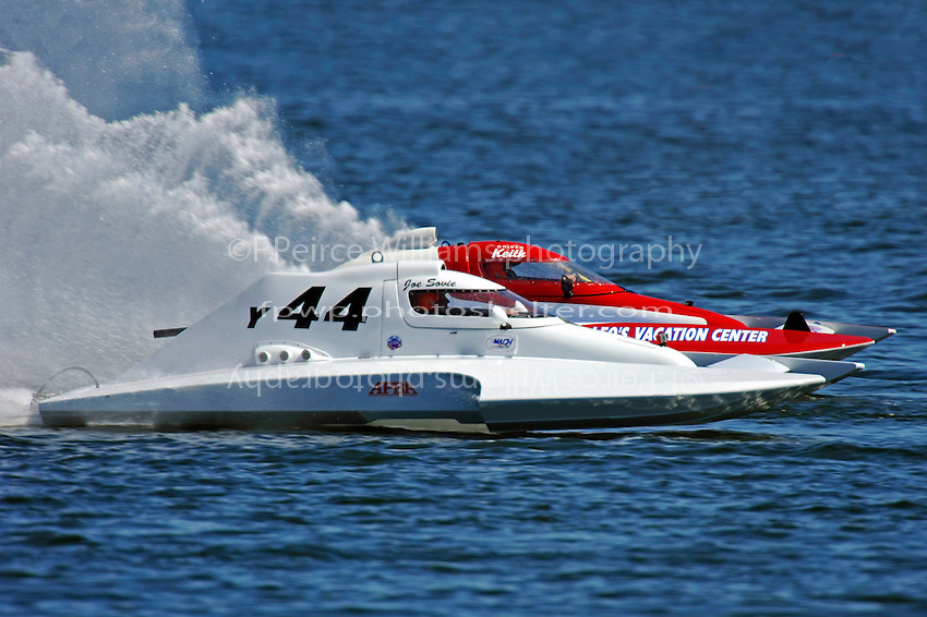 "Joe Sovie, Y-44 and Keith McMullen, Y-80 ""Outlaw"" (1 Litre MOD hydroplane(s)"