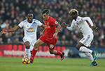 Philippe Coutinho of Liverpool during the Premier League match at the Anfield Stadium, Liverpool. Picture date: November 26th, 2016. Pic Simon Bellis/Sportimage
