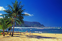 Hanalei Bay, North shore Kauai, Makana Point