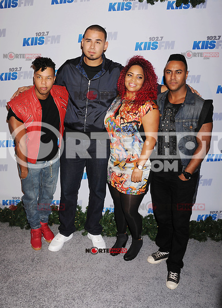 LOS ANGELES, CA - DECEMBER 03: Afrojack and Shermanology attend the KIIS FM's Jingle Ball 2012 held at Nokia Theatre LA Live on December 3, 2012 in Los Angeles, California.PAP1212JP341