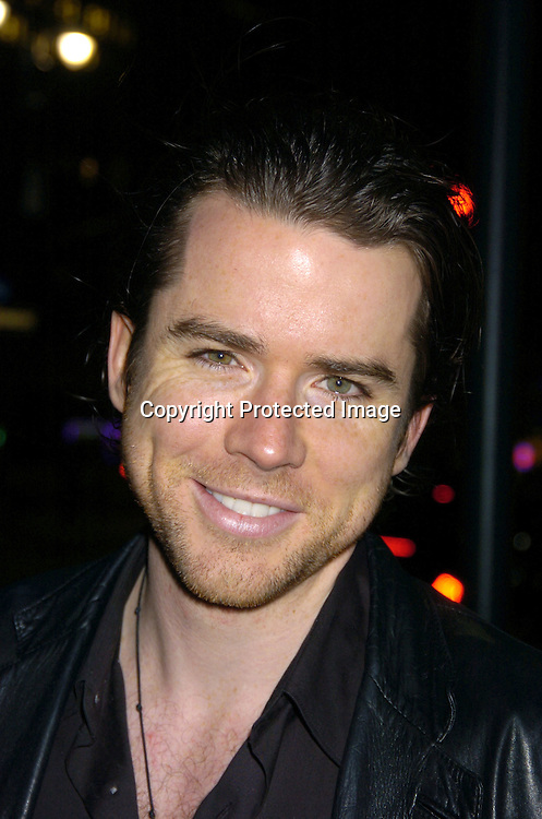 "Christian Campbell ..at a performance of ""Pippin"" A Concert to Benefit The National Aids Fund and The Storm Theatre on November 29, 2004 at The Manhattan Center's Grand Ballroom...PHoto by Robin Platzer, Twin Images"