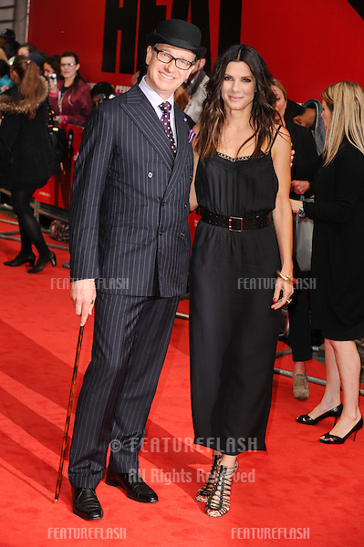 director, Paul Feig and actress, Sandra Bullock arriving at the UK Gala Premiere of 'The Heat', at Cuzon Mayfair, London. 13/06/2013 Picture by: Steve Vas / Featureflash