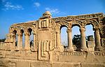Palestinian territories, Jordan Valley, Hisham Palace in Jericho