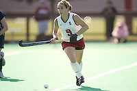 STANFORD, CA - OCTOBER 19:  Xanthe Travlos of the Stanford Cardinal during Stanford's 12-0 win over UC Davis on October 19, 2008 at the Varsity Field Hockey Turf in Stanford, California.
