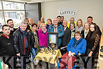 Pictured last Wednesday March 13th in Garvey's SuperValu, Tralee, for the Launch of the Tralee Tidy Towns, are members who have won 7 Gold medals in the past 7 years already, and are aiming for another good year .