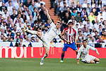 Toni Kroos of Real Madrid in action during their La Liga match between Real Madrid and Atletico de Madrid at the Santiago Bernabeu Stadium on 08 April 2017 in Madrid, Spain. Photo by Diego Gonzalez Souto / Power Sport Images