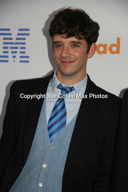 Michael Urie - Ugly Betty - Temperamentals at the 21st Annual GLAAD Media Awards on March 13, 2010 at the New York Marriott Marquis, New York City, NY. (Photo by Sue Coflin/Max Photos)