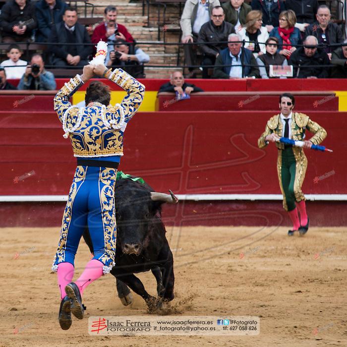 Feria de Fallas 2017.<br /> Corrida de toros.<br /> Juan Jose Padilla - Curro Diaz - Manuel Escribano.<br /> Toros de Fuente Ymbro.<br /> Valencia, Valencia (Spain).<br /> 12 de marzo de 2017.