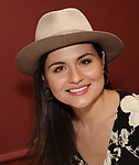 """Phillipa Soo from the cast of """"The Parisian Woman"""" honored with a Sardi's Wall of Fame Portrait on February 28, 2018 at Sardi's in New York City."""